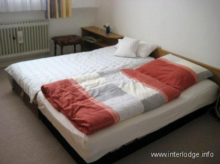 INTERLODGE Sehr ruhig gelegene, kleine, komplett möblierte Wohnung in Düsseldorf-Heerdt - Wohnen auf Zeit - Bild 1