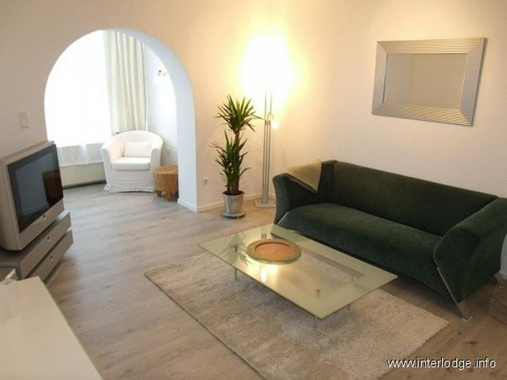 Bild 3: INTERLODGE Sehr schick möblierte Wohnung im Hochparterre in guter Lage in Essen-Frohnhaus...