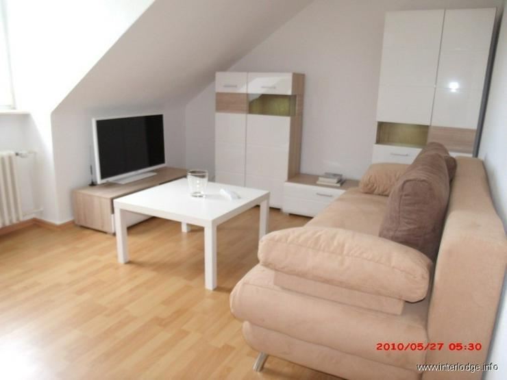 Bild 2: INTERLODGE Modern möblierte, helle Dachgeschosswohnung, ungsservice in Essen-Bredeney