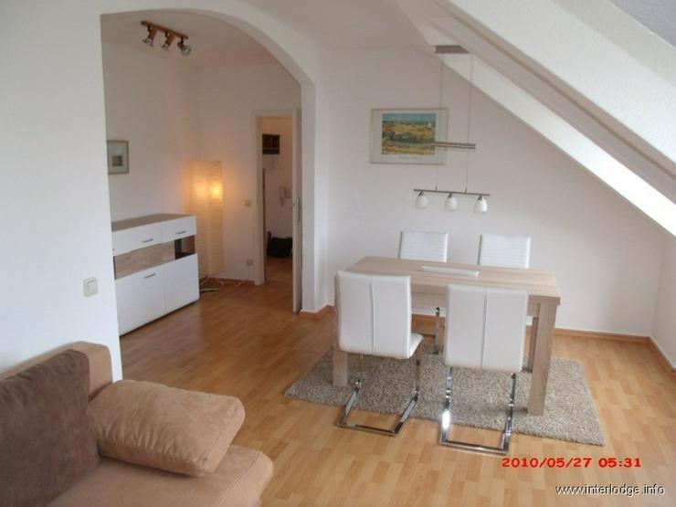 INTERLODGE Modern möblierte, helle Dachgeschosswohnung, ungsservice in Essen-Bredeney - Wohnen auf Zeit - Bild 1