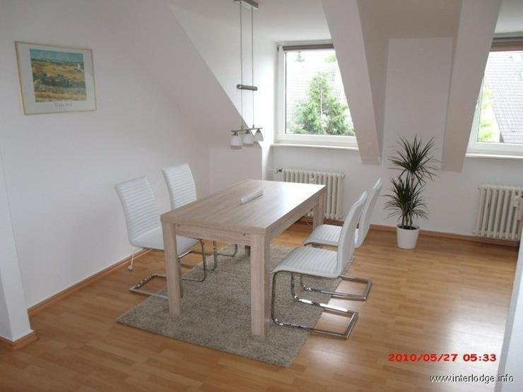 Bild 6: INTERLODGE Modern möblierte, helle Dachgeschosswohnung, ungsservice in Essen-Bredeney