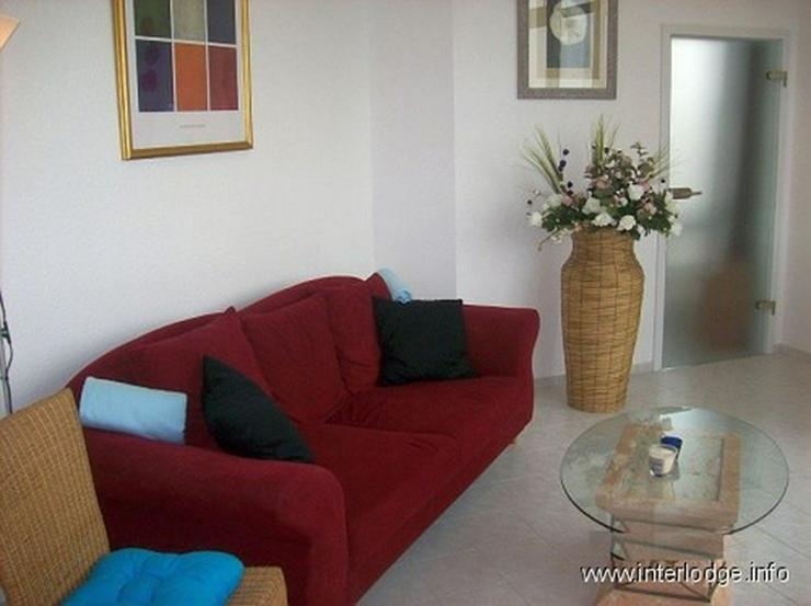 Bild 5: INTERLODGE Stilsicher möblierte Wohnung in Rheinnähe, mit Balkon und Aufzug in Neuss-Gri...