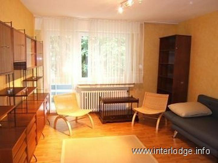 Bild 2: INTERLODGE Modern möblierte Erdgeschosswohnung mit Balkon in zentraler Lage in Essen-Borb...
