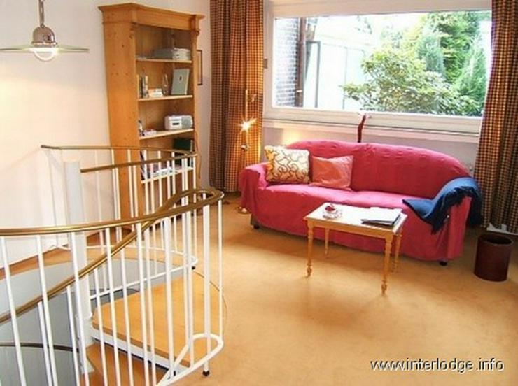 INTERLODGE Möblierte Maisonettewohnung mit Balkon und Garage,Nähe Baldeneysee, in Essen-... - Wohnen auf Zeit - Bild 1