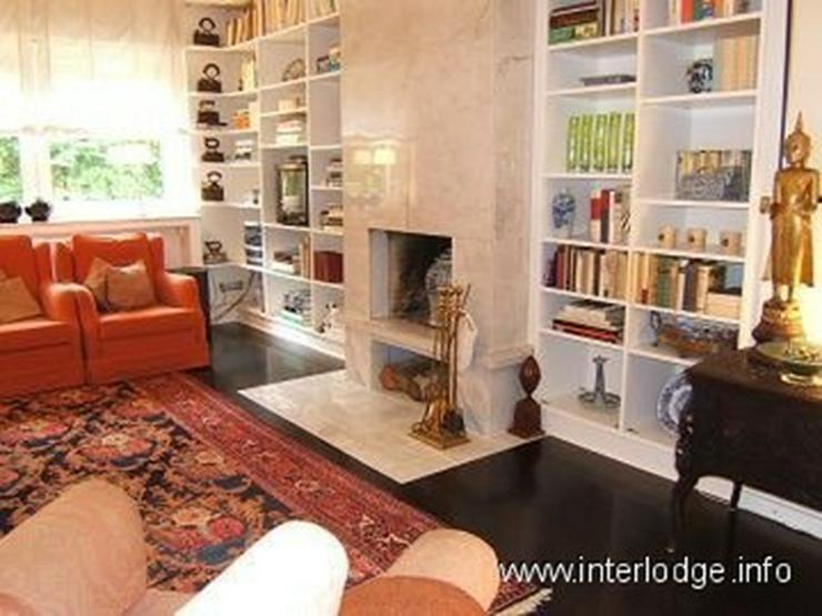 INTERLODGE Möblierte Wohnung mit gehobener Ausstattung, Marmorkamin und Terrasse in Essen... - Wohnen auf Zeit - Bild 1
