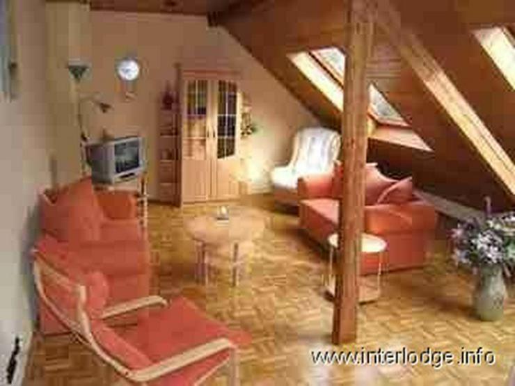 INTERLODGE Möblierte Dachgeschosswohnung mit moderner, gemütlicher Ausstattung in Essen-... - Wohnen auf Zeit - Bild 1