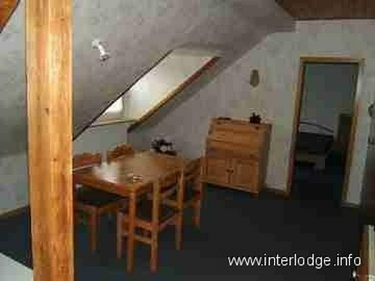 Bild 4: INTERLODGE Möblierte Dachgeschosswohnung mit moderner, gemütlicher Ausstattung in Essen-...