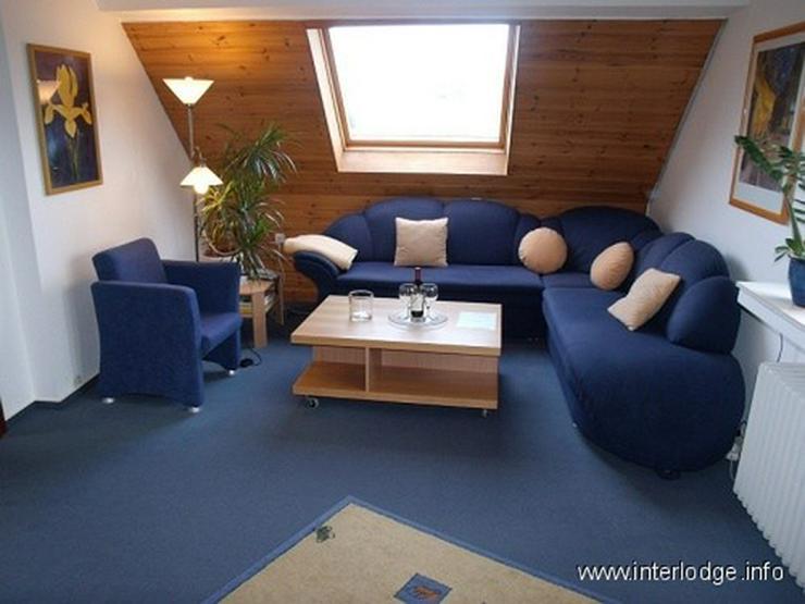 INTERLODGE Komplett möblierte Wohnung mit PKW-Stellplatz in ruhiger Lage in Essen-Frohnha... - Wohnen auf Zeit - Bild 1