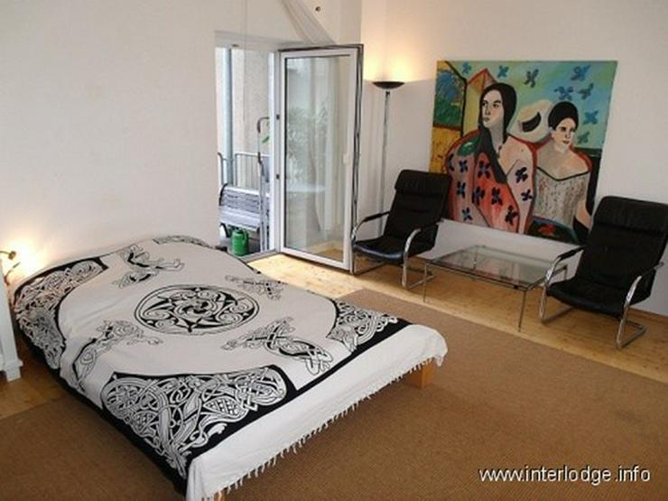 Bild 2: INTERLODGE Komplett möbliertes, helles Apartment mit Balkon in Düsseldorf-Flingern Nähe...