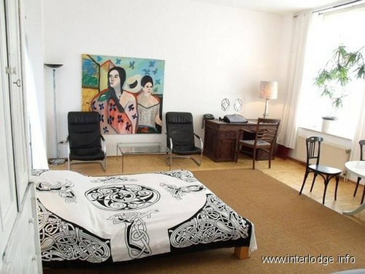 INTERLODGE Komplett möbliertes, helles Apartment mit Balkon in Düsseldorf-Flingern Nähe... - Wohnen auf Zeit - Bild 1