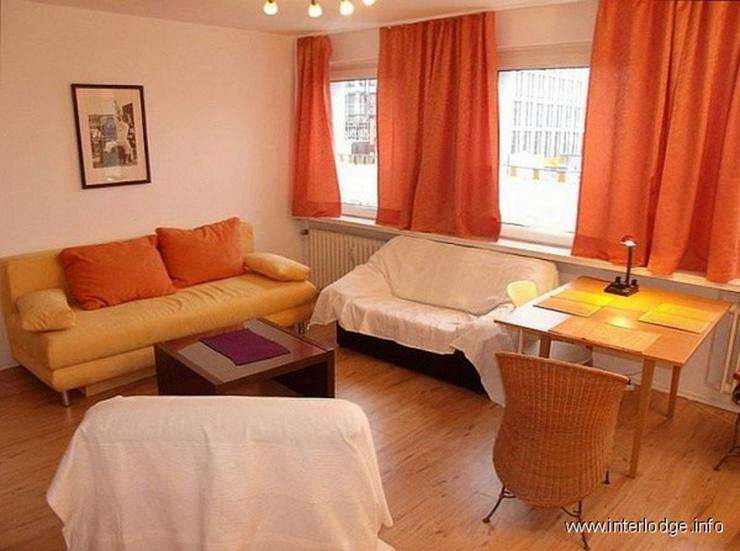 Bild 3: INTERLODGE Möblierte Wohnung mit zweckmäßiger Ausstattung, in zentraler Lage der Essene...