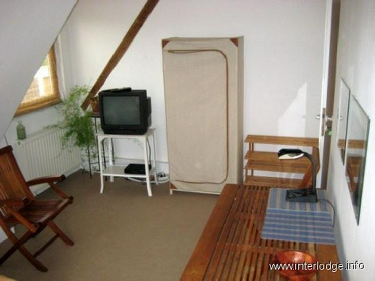 INTERLODGE Voll möbliertes Apartment inkl. Reinigunsservice, nahe Seestern, in Düsseldor... - Wohnen auf Zeit - Bild 1