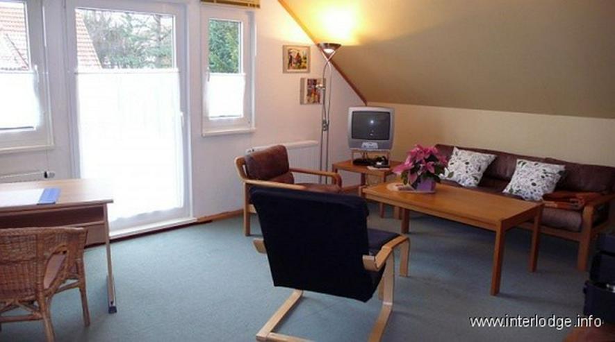 Bild 2: INTERLODGE Ansprechend möbliertes Apartment mit Balkon in ruhiger Lage in Essen-Horst