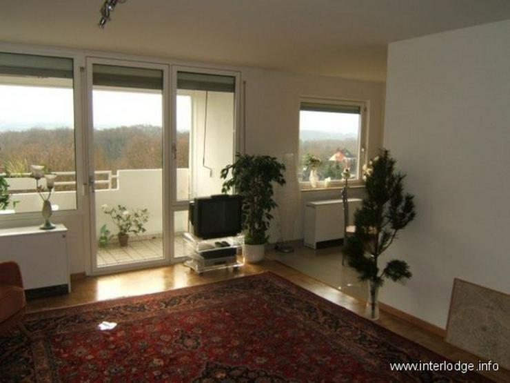 Bild 2: INTERLODGE Hochwertig möblierte Etagenwohnung mit Balkon und Personenaufzug in Essen-Stee...