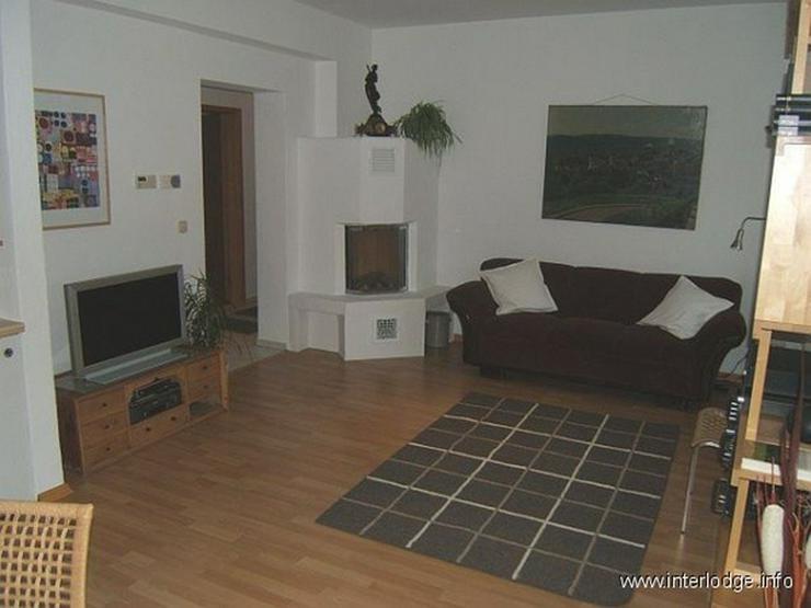 INTERLODGE Modern möblierte Nichtraucherwohnung mit zwei Schlafzimmern und Kamin in Essen... - Wohnen auf Zeit - Bild 1
