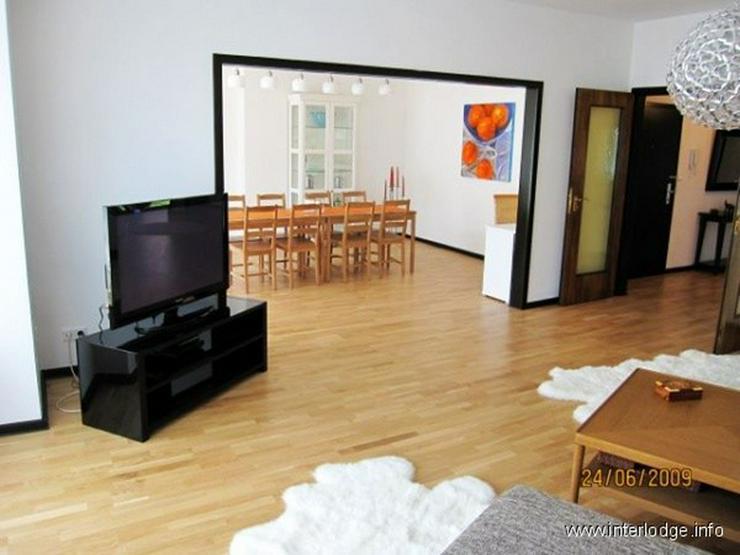 Bild 3: INTERLODGE Attraktiv möblierte Wohnung mit Lift, Balkon und 2 Schlafzimmern in Düsseldor...