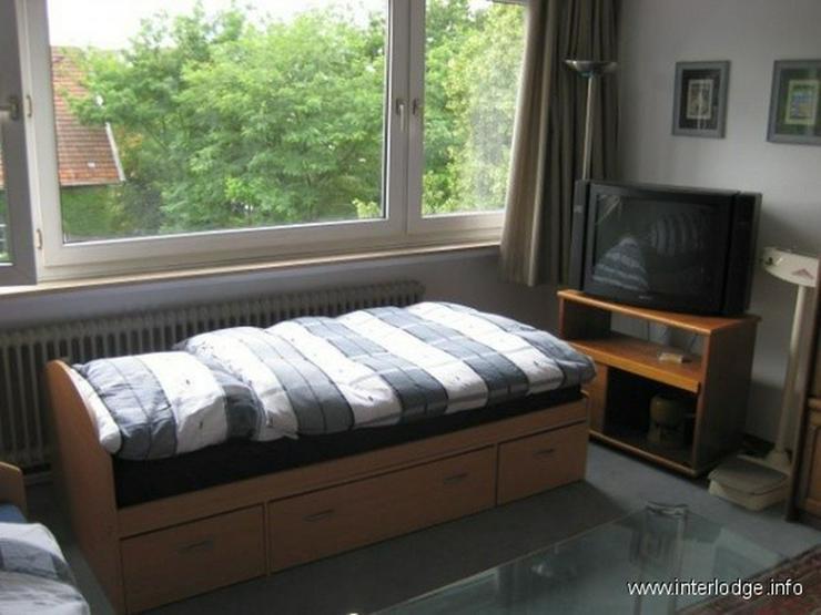 INTERLODGE Möbliertes Apartment mit großer Fensterfront und Personenaufzug in Düsseldor... - Wohnen auf Zeit - Bild 1