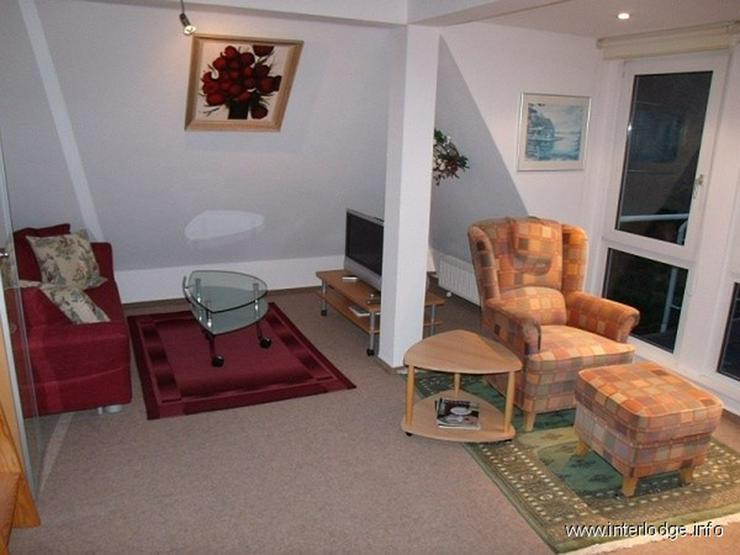 INTERLODGE Komplett und gut möblierte Wohnung mit großem Balkon in Dortmund-Barop - Wohnen auf Zeit - Bild 1