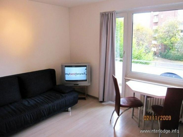 INTERLODGE Modern möbliertes Apartment mit Balkon und Personenaufzug, in Düsseldorf-Dere... - Wohnen auf Zeit - Bild 1