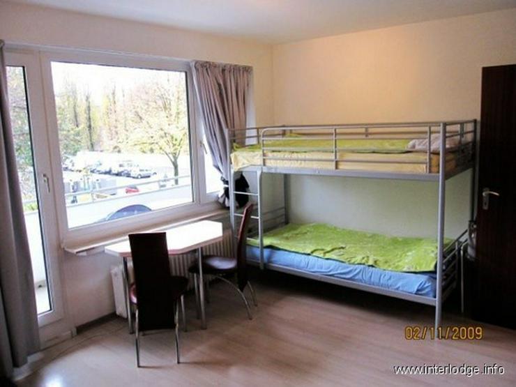 Bild 2: INTERLODGE Modern möbliertes Apartment mit Balkon und Personenaufzug, in Düsseldorf-Dere...