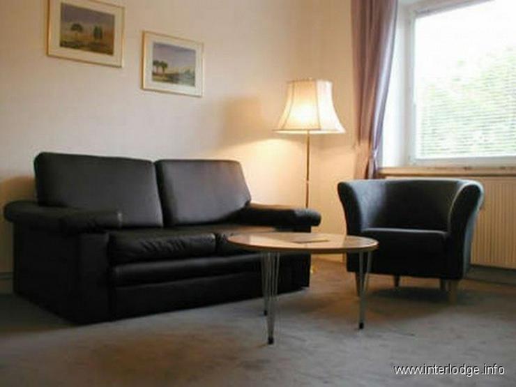 INTERLODGE Modern möblierte Wohnung mit 2 Schlafräumen, Balkon und Gartennutzung in Köl... - Wohnen auf Zeit - Bild 1