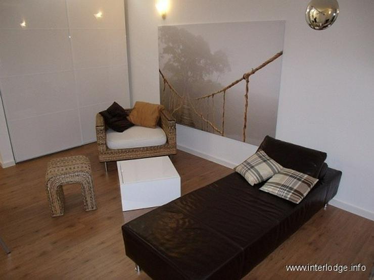 Bild 2: INTERLODGE Sehr modern möbliertes großes Apartment mit Balkon in Essen-Südviertel (Rüt...