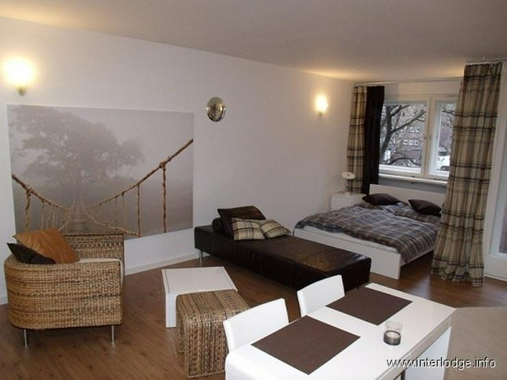Bild 4: INTERLODGE Sehr modern möbliertes großes Apartment mit Balkon in Essen-Südviertel (Rüt...