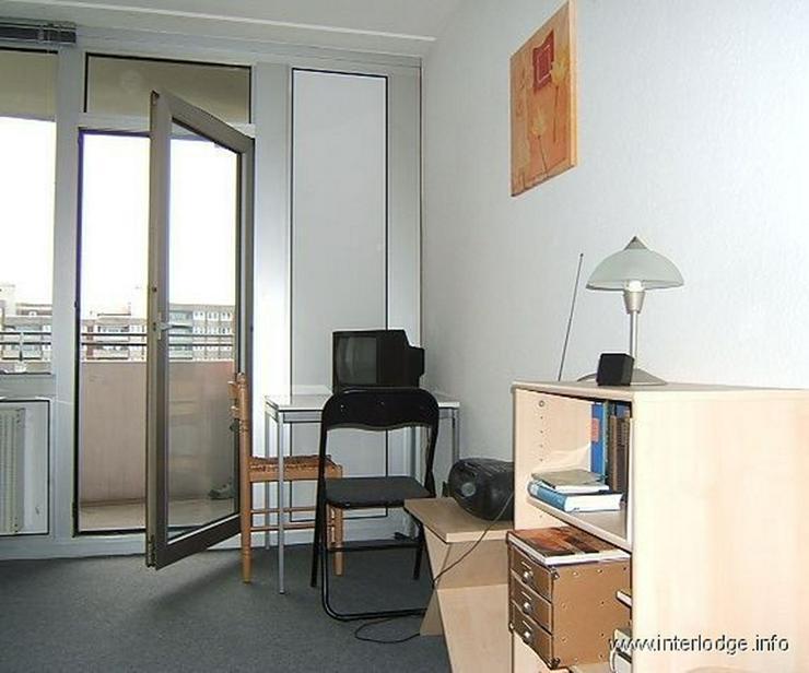 INTERLODGE Möbliertes Apartment mit Balkon und Ausblick auf den Rhein in Köln-Zollstock - Wohnen auf Zeit - Bild 1
