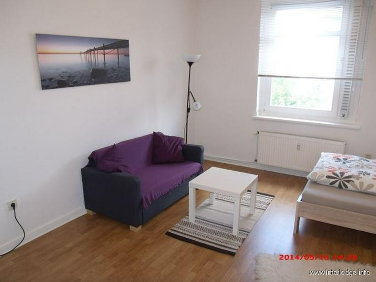 INTERLODGE Schöne helle, komplett möblierte Wohnung mit Balkon in Essen Frohnhausen - Wohnen auf Zeit - Bild 1