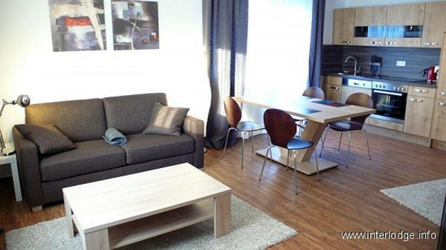 INTERLODGE Komplett und schick möbliertes Komfortapartment mit Balkon in Essener Cityrand... - Wohnen auf Zeit - Bild 1