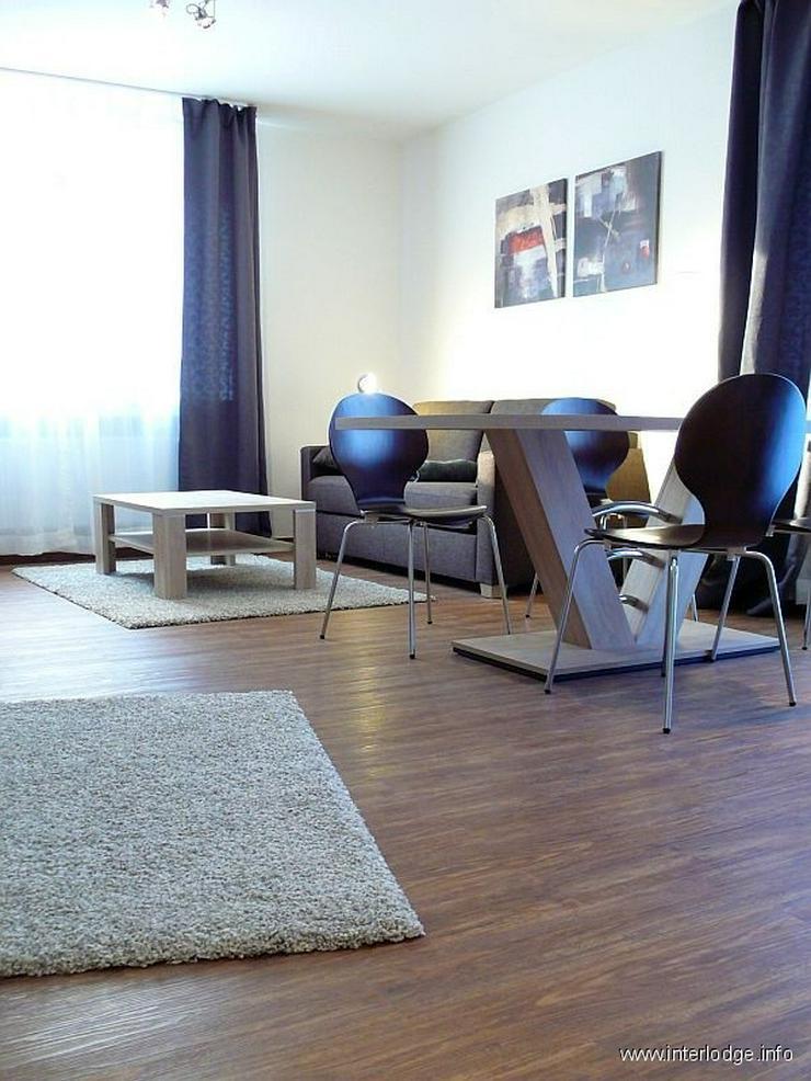 Bild 2: INTERLODGE Komplett und schick möbliertes Komfortapartment mit Balkon in Essener Cityrand...