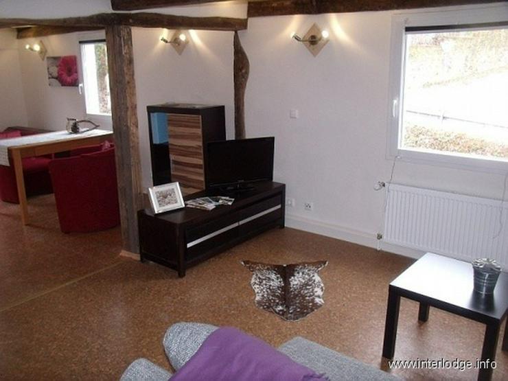 Bild 3: INTERLODGE Schick möbliertes Apartment im Fachwerkhaus mit Terrasse, Garten und Sauna in ...