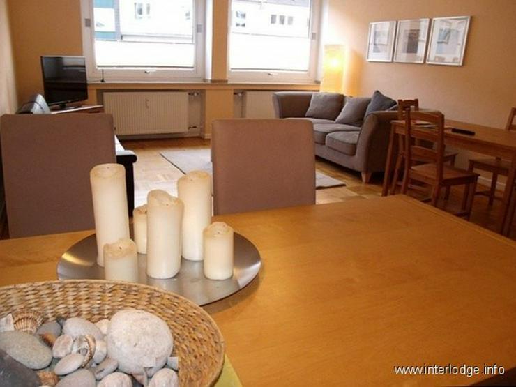 Bild 2: INTERLODGE Modern möblierte Wohnung mit Balkon, 2 Schlafzimmern und Aufzug in Essen-Rütt...