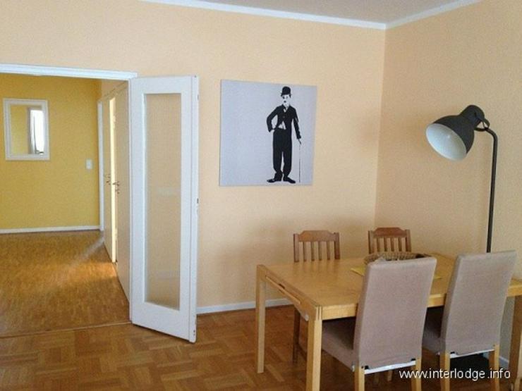 Bild 3: INTERLODGE Modern möblierte Wohnung mit Balkon, 2 Schlafzimmern und Aufzug in Essen-Rütt...