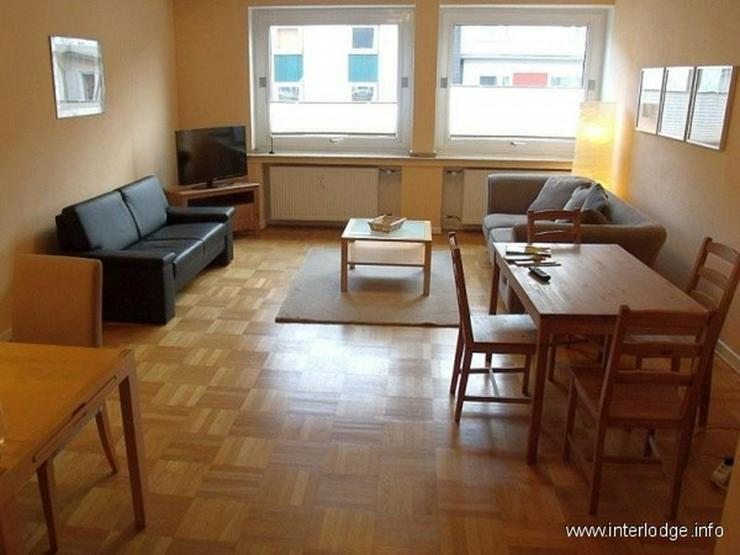 INTERLODGE Modern möblierte Wohnung mit Balkon, 2 Schlafzimmern und Aufzug in Essen-Rütt... - Bild 1