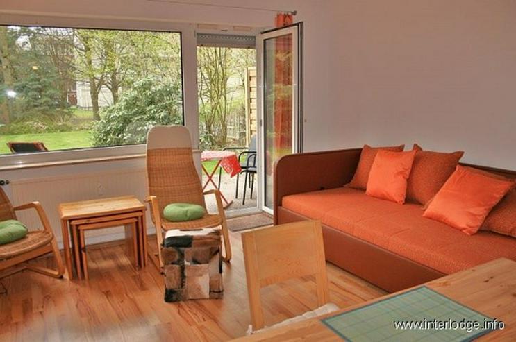 Bild 2: INTERLODGE Modern möbliertes Apartment mit WLAN, Balkon und Garten in ruhiger Lage in der...