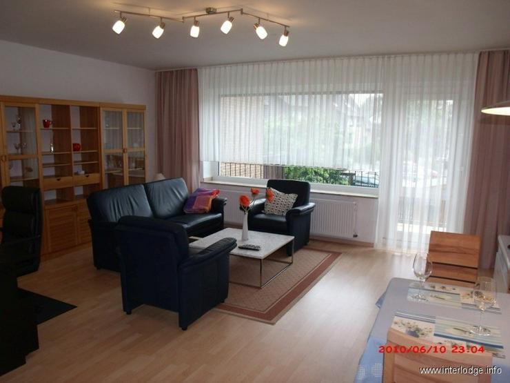 INTERLODGE Liebevoll möblierte Etagenwohnung mit Balkon, in Bestlage von Witten-Stockum - Wohnen auf Zeit - Bild 1