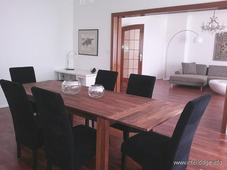 INTERLODGE Attraktiv möblierte Wohnung mit Lift, Balkon und 2 Schlafzimmern in Düsseldor... - Bild 1