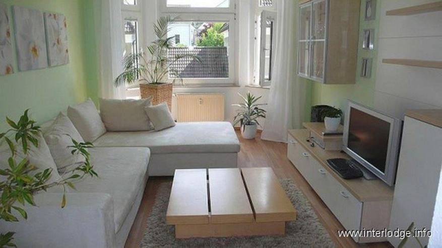 Bild 3: INTERLODGE Modern möblierte Wohnung in saniertem Altbau. Ruhige Grünlage am Park in Esse...