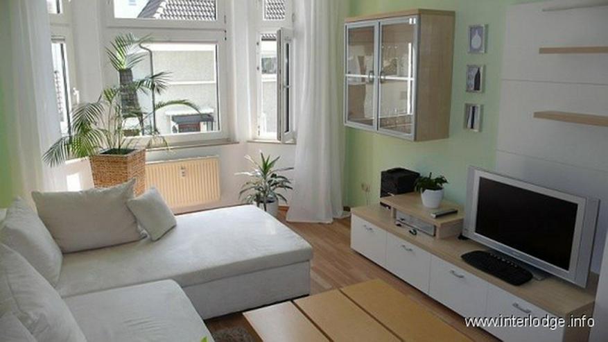 Bild 2: INTERLODGE Modern möblierte Wohnung in saniertem Altbau. Ruhige Grünlage am Park in Esse...