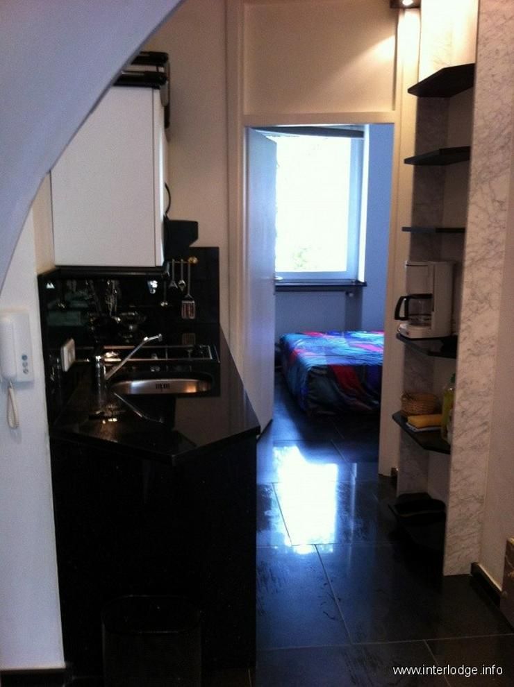 Bild 2: INTERLODGE D-Derendorf: Hochwertig möblierte 2-Zimmer-Wohnung mit Garten