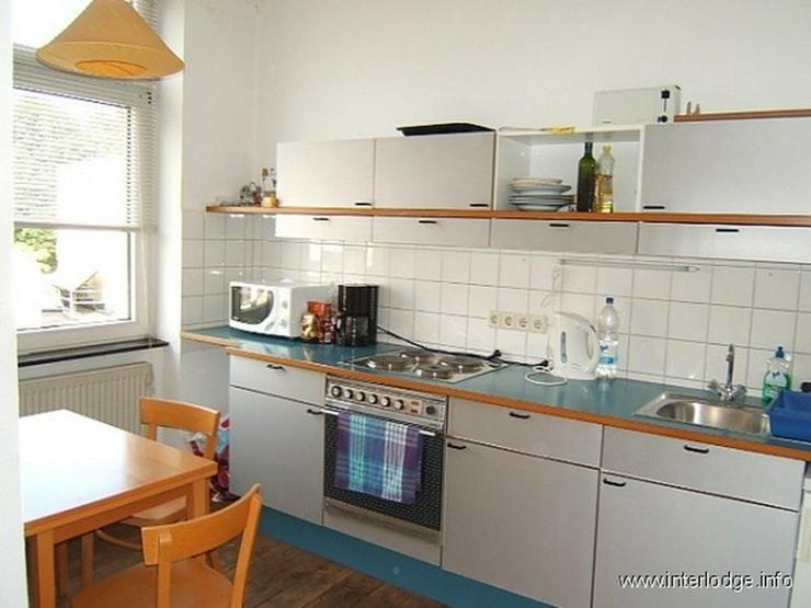 INTERLODGE Große möblierte Altbauwohnung mit Balkon und Garage in Köln-Nippes - Wohnen auf Zeit - Bild 1