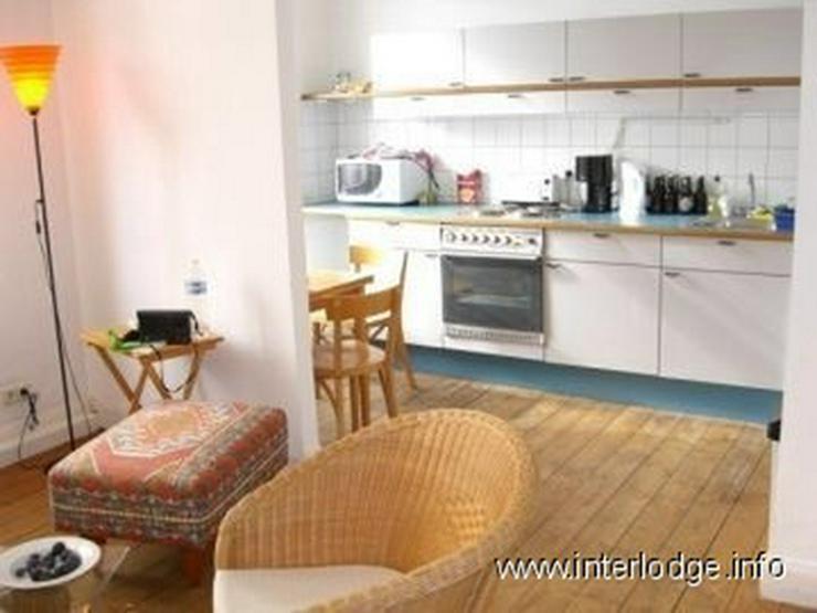 Bild 3: INTERLODGE Möblierte Komfortwohnung in saniertem Altbau mit Balkon und Garage in Köln-Ni...