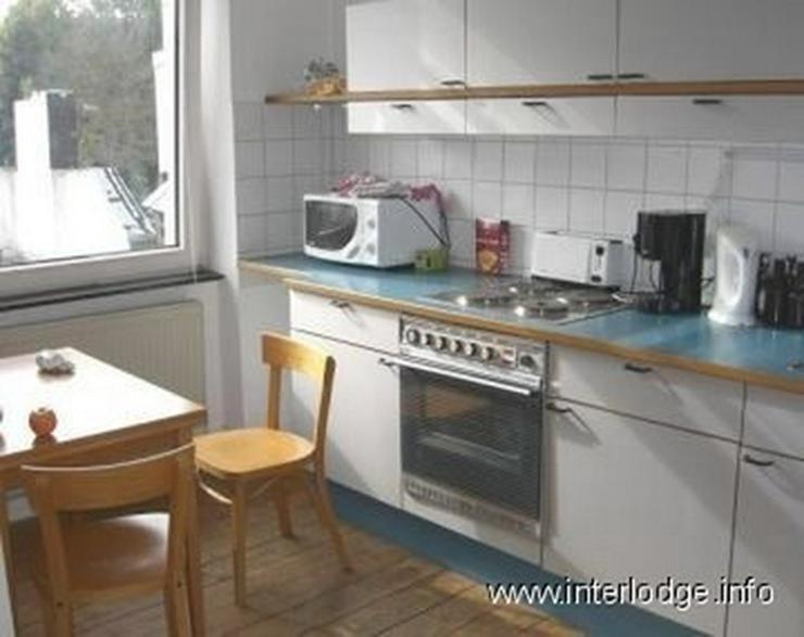 Bild 4: INTERLODGE Möblierte Komfortwohnung in saniertem Altbau mit Balkon und Garage in Köln-Ni...