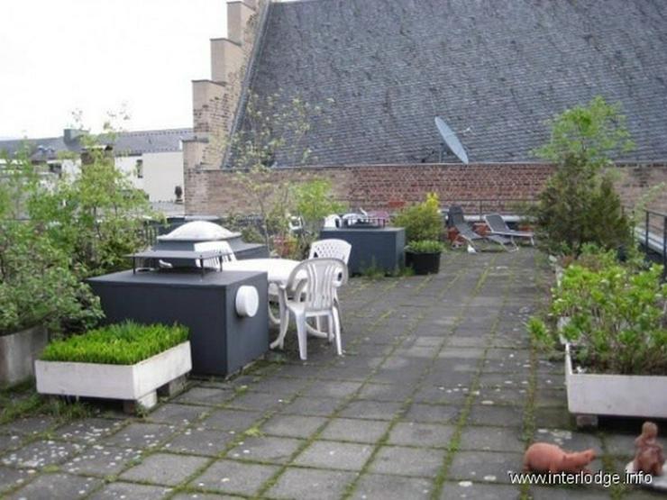 INTERLODGE Möbliertes Apartment im Mehrfamilienhaus mit Aufzug und Terrasse in Köln-Alts... - Wohnen auf Zeit - Bild 1