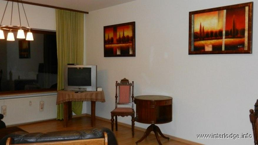 Bild 3: INTERLODGE Stilvoll möblierte Maisonette mit Balkon, Terrasse und Gartennutzung in Köln-...