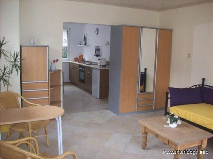 INTERLODGE Komplett möbliertes Apartment mit Terrasse und Gartennutzung in Neuss-Reuschen...