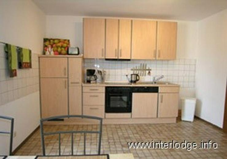 Bild 2: INTERLODGE Möblierte Komfort Maisonettewohnung mit Balkon, Aufzug und 2 Schlafräumen in ...