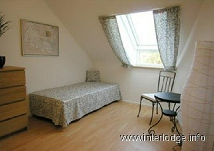 Bild 4: INTERLODGE Möblierte Komfort Maisonettewohnung mit Balkon, Aufzug und 2 Schlafräumen in ...
