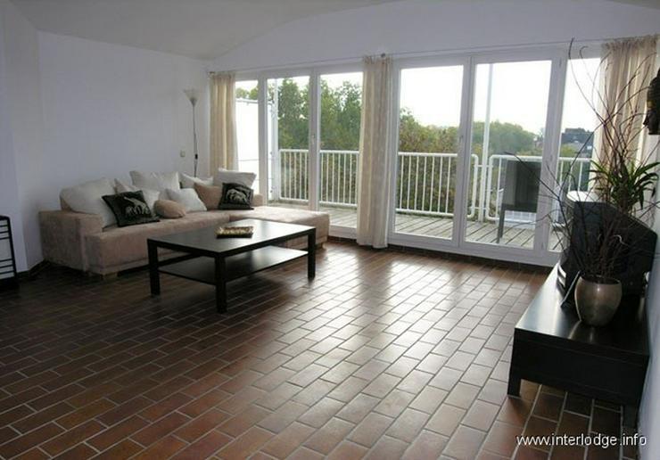 INTERLODGE Möblierte Komfort Maisonettewohnung mit Balkon, Aufzug und 2 Schlafräumen in ...